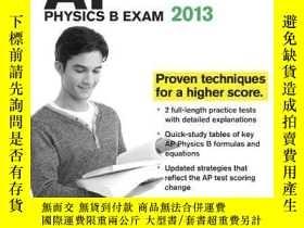 二手書博民逛書店Cracking罕見the AP Physics B Exam, 2013 Edition (College Te