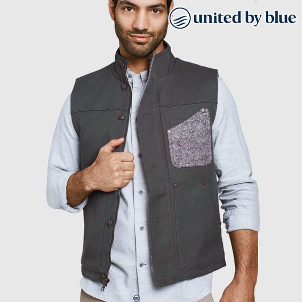 United by Blue 男野牛毛立領保暖背心 104-006 Bison Utility Vest / 城市綠洲 (有機棉、環保、無化學物)