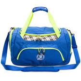 旅行袋 金安德森 跳躍時空  機能收納手提旅行袋(大款)-摩登藍