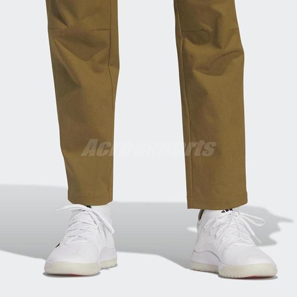 adidas 長褲 TH PNT TWL CSTN 綠 黑 男款 棉質 運動休閒 【ACS】 GP0943