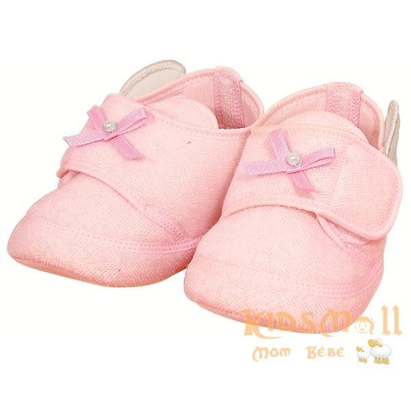 日本製Angel Dept,超可愛天使造型嬰兒鞋-粉