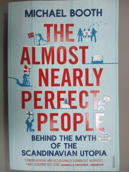 【書寶二手書T5/原文小說_LDE】The Almost Nearly Perfect People: Behind t