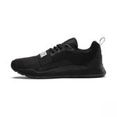 PUMA Wired  LOGO 休閒運動慢跑鞋 黑-NO.36697001