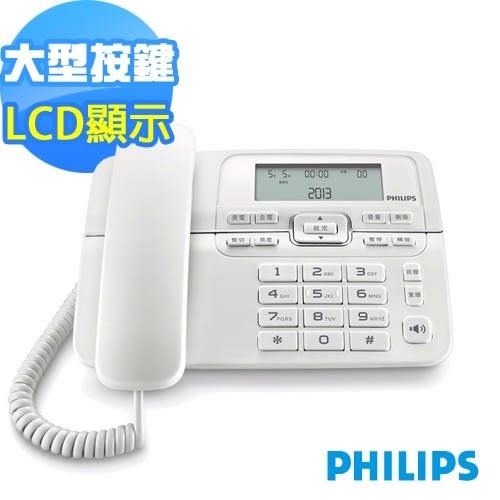 (福利品出清) PHILIPS飛利浦有線電話M20W