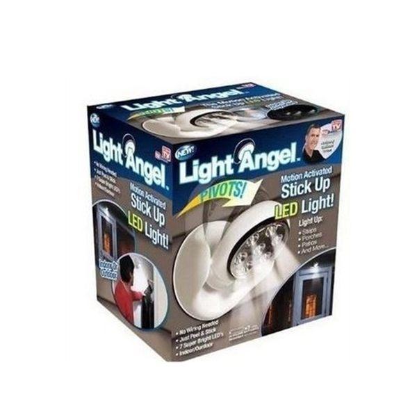 [拉拉百貨] Light angel 全新品 感應燈 TV 360度自動感應燈 旋轉LED感應燈 夜燈 防盜