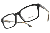 BURBERRY 光學眼鏡 B2308F 3464 (霧黑) 低調質感百搭款 # 金橘眼鏡