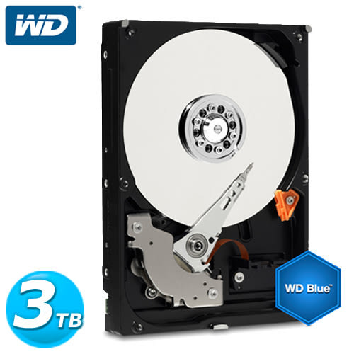 WD30EZRZ 藍標 3TB 3.5吋SATA硬碟