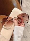墨鏡女ins年新款圓臉韓版潮時尚太陽眼鏡防紫外線大臉顯瘦21 魔法鞋櫃