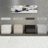 床頭櫃 ins床頭櫃整裝免安裝帶鎖北歐簡約現代白色實木灰色床邊櫃輕奢風【美物居家館】