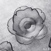 日式櫻花瓣醬料小碟子家用粉色水晶玻璃小碗調味干果盤mj5495【雅居屋】