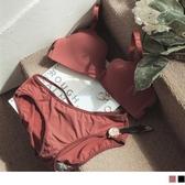 《VA628》蝴蝶結美背無鋼圈成套內衣+內褲 OB嚴選