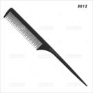 抗熱碳纖尖尾刮梳(8612)單支(美髮梳子)[99313]