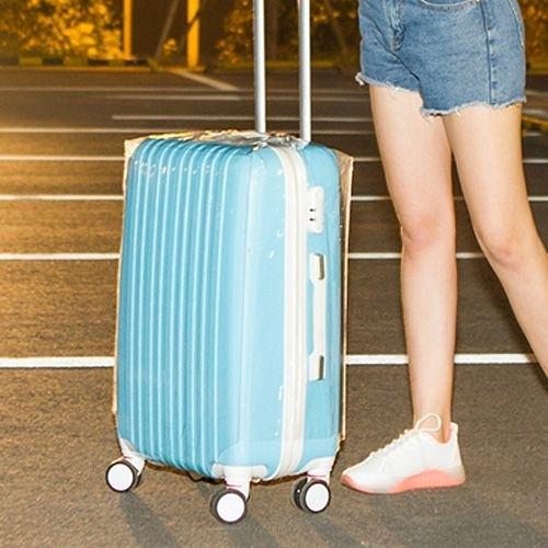 20吋行李箱透明加厚耐磨防水保護套 拉桿箱套 旅行箱套