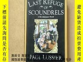 二手書博民逛書店last罕見refuge of scoundrels :A Re