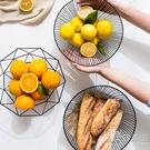 水果盤北歐風格果籃創意零食果盤家用現代客廳茶幾水果籃 小時光生活館