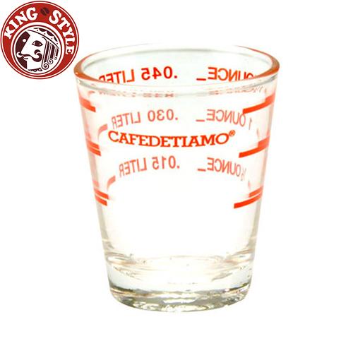 金時代書香咖啡 Tiamo 玻璃量杯 2oz 60CC  AC0012