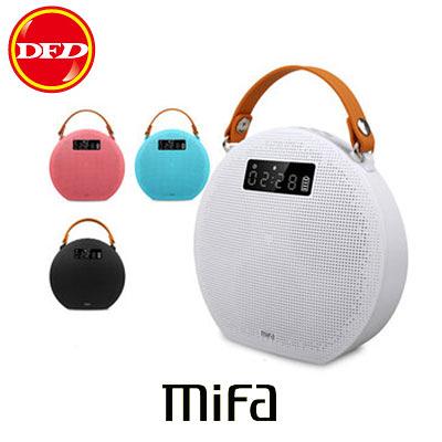 MiFa M9 無線藍牙MP3喇叭 藍芽音響/APP鬧鐘/Micro SD插卡播放/AUX IN線路輸入 iPhone SE也適用