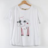【MASTINA】巨蛋十周年聯名T恤(羊咩咩)-白/藍  秋裝限定嚴選