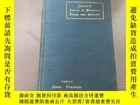 二手書博民逛書店tables罕見of minerals rocks and ge