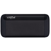 Micron 美光 Crucial X8 2TB Typc-C 外接式 SSD 固態硬碟 行動硬碟 CT2000X8SSD9