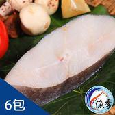 【漁季】鮮凍厚切比目魚(扁鱈)*6包(250g±10%/包)