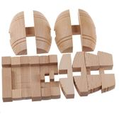 酒桶鎖孔明鎖學生木質益智玩具