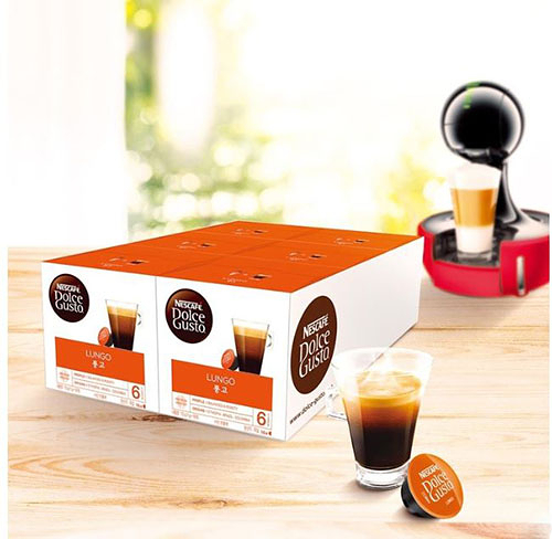 Dolce Gusto 雀巢美式濃黑膠囊組