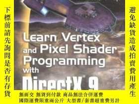 二手書博民逛書店Learn罕見Vertex & Pixel Shader Programming With Directx 9-學