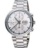 MIDO 美度 Commander 指揮官系列計時機械手錶-銀 M0144141103100