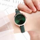 正品KEZZI暗綠森系文藝小清新時尚防水女士學生手錶細帶小巧氣質