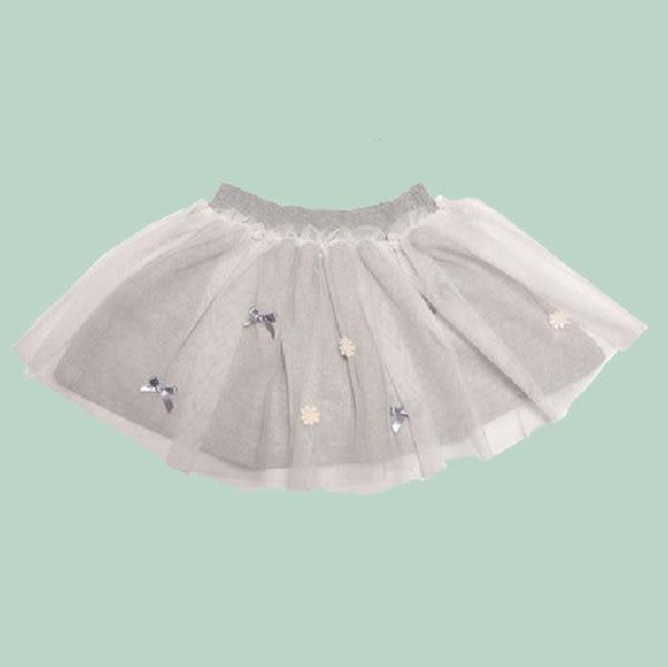 ★童裝大亨★美國MAELI ROSE蕾絲雪紡蓬蓬裙4J01 白