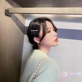 髮飾 韓國頭飾鋯石夾子發夾女簡約頂夾劉海夾BB夾一字夾邊夾少女-星時代生活館