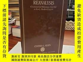 二手書博民逛書店Case罕見Marking and Reanalysis: Grammatical Relations from