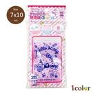 icolor 三麗鷗 信件Kitty分裝袋 夾鏈袋(SS)
