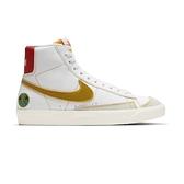 Nike Blazer Mid 77 (GS) 大童 白 橘 綠 中筒 外星人 休閒鞋 DD9528-100