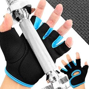 彈性SBR全掌止滑手套.運動手套防滑手套.健身手套短手套.耐磨半指手套露指手套.跑酷腳踏車