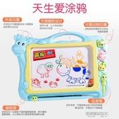 畫板兒童大號彩色磁性寫字板寶寶畫畫板塗鴉板男孩女孩1-3歲2幼兒玩具 凱斯盾