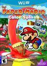 WiiU 紙片瑪利歐:色彩噴濺(美版代購)