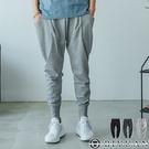 男女可穿 厚磅棉褲【OBIYUAN 】 大口袋 飛鼠褲 休閒褲 縮口褲 共3色【JG3093】