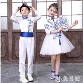 六一兒童演出服女童民國風舞蹈裙小學生合唱團比賽幼兒園表演服裝 GD877『小美日記』