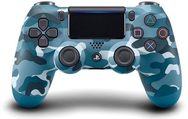PS4 新無線控制器(迷彩藍)