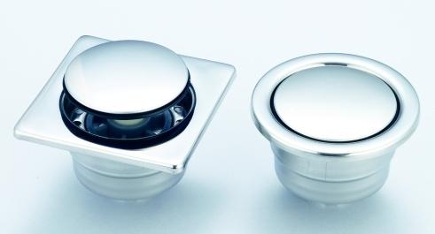 【麗室衛浴】M-038-5白鐵按壓落水頭 砌磚專用浴缸按壓式排水器.也可以用於防臭