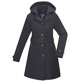 【南紡購物中心】【歐都納】女款GORE-TEX防水防風兩件式羽絨機能外套(黑)