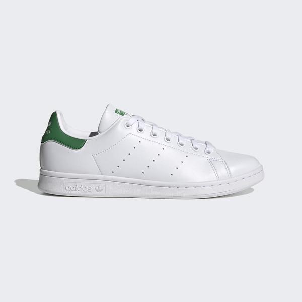 Adidas Stan Smith [FX5502] 男鞋 運動 休閒 經典 舒適 簡約 穿搭 史密斯 愛迪達 白 綠