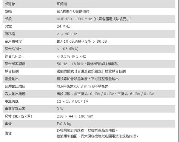 ^聖家^MIPRO 嘉強半U單頻道自動選訊接收機 ACT-311B【全館刷卡分期+免運費】