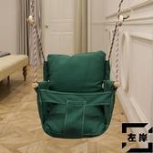 小孩兒童鞦韆繩子座椅室內戶外蕩鞦韆加掛鉤座椅【左岸男裝】