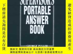 二手書博民逛書店Supervisor s罕見Portable Answer Book-主管便攜式答疑簿Y436638 Geor