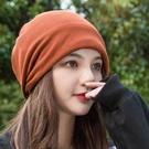 月子帽女秋產後雙層加厚保暖防風孕產婦帽外出時尚可愛透氣韓版