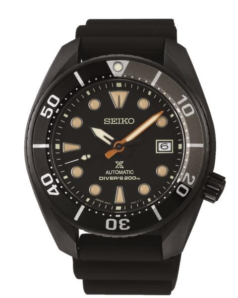 【SEIKO】PROSPEX DIVER SCUBA全黑系水鬼限量潛水錶