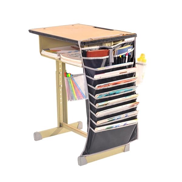 書桌側邊收納掛袋 學生課本收納袋 桌邊掛袋 書桌掛袋 書本收納袋 多功能掛書袋 ⭐星星小舖⭐